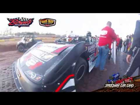 Winner #J0 John Ownbey - Super Late Model - 2-2-20 Boyds Speedway Cabin Fever - In-Car Camera