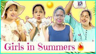 GIRLS in SUMMERS.... | #Fun #Sketch #Roleplay #Comedy #Anaysa #ShrutiArjunAnand thumbnail