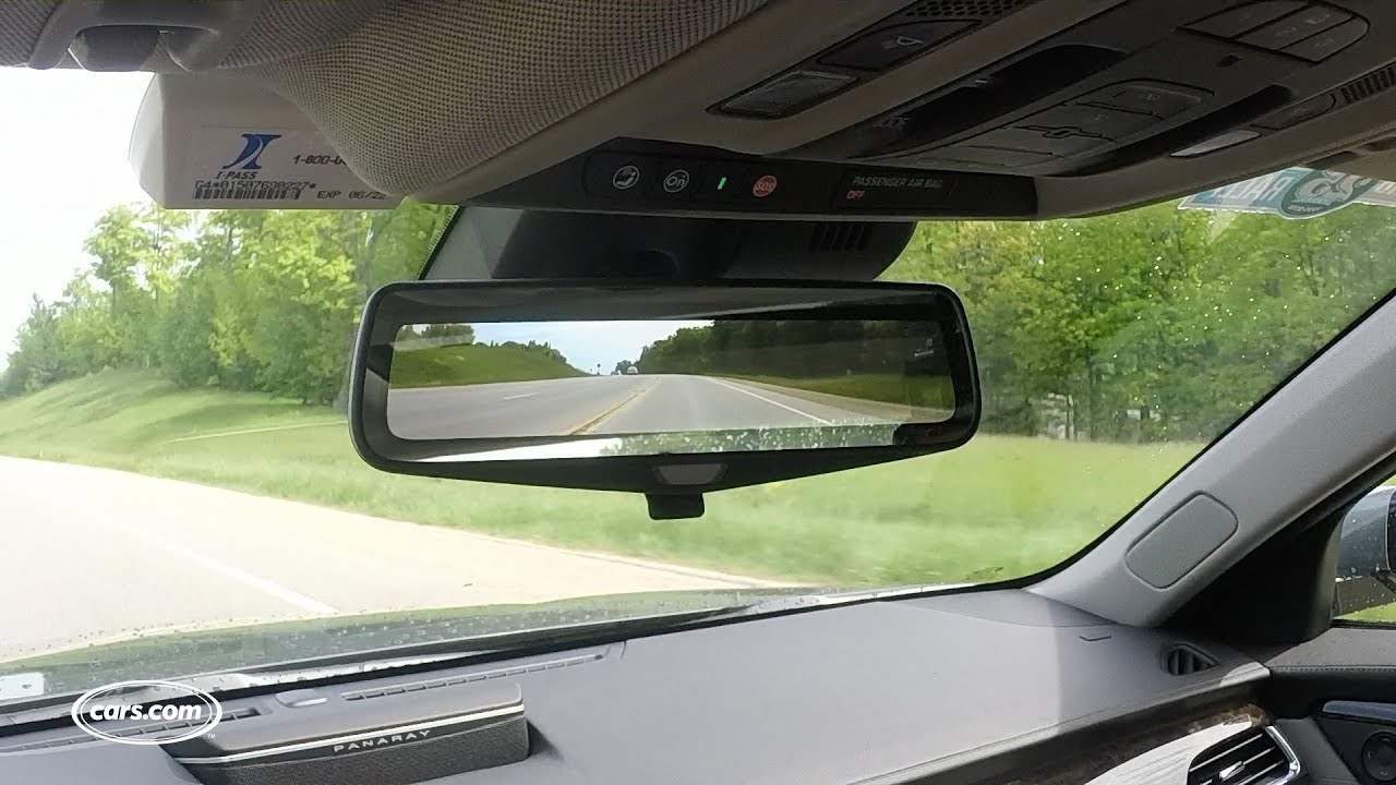 cadillac ct rear camera mirror youtube