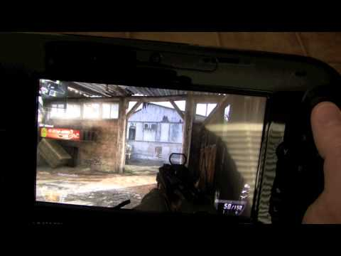 Playing Wii U Call Of Duty Off TV On Gamepad