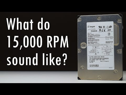 The 15000 RPM SCSI HDD experience with the Seagate Cheetah 15K.3