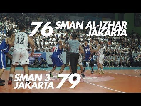 SMA Al-Izhar Jakarta VS SMAN 3 Jakarta - Honda DBL DKI Jakarta Series South Region 2018