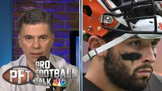 Baker Mayfield addresses comments with Giants' Daniel Jones | Pro Football Talk | NBC Sports
