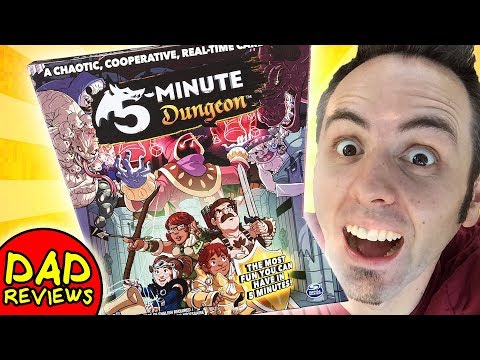 BEST CO OP BOARD GAMES | 5 Minute Dungeon Review