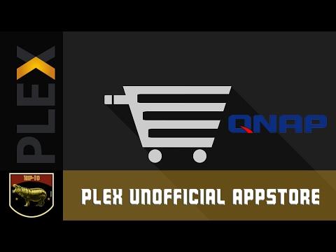 Plex Unofficial Appstore QNAP install