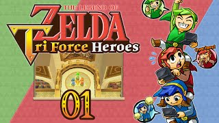Zelda: Tri Force Heroes #1 - L