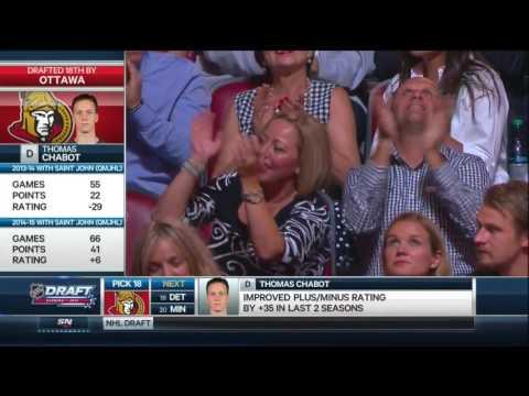 2015 NHL Draft: #18 Overall Pick – Thomas Chabot – Ottawa Senators