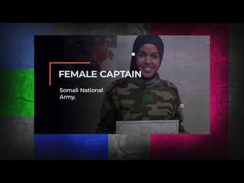 Meet The Female Somali Military Captain Fighting Al-Shabab Terrorists