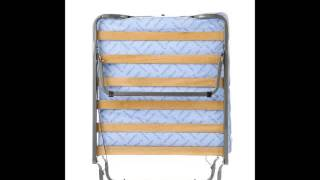Milliard Super Strong Portable Folding Rollaway Bed, 38 By 79- Inch