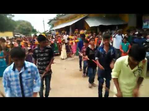 Village Boys( kolata )  On Bathukama Fest      Nirmala O Nirmala●●●●●§