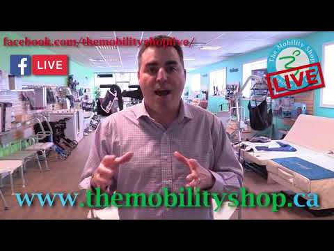 The Mobility Shop LIVE - FREE FOLDING CANE OFFER