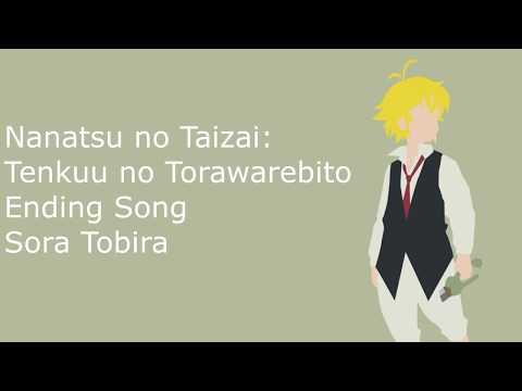 Nanatsu No Taizai: Tenkuu No Torawarebito Ending Song - Sora Tobira- Nogizaka46 (easy Lyric)