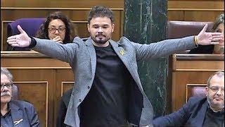 Ana Pastor expulsa a Gabriel Rufián tras altercado con Borrell