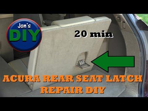DIY Rear Latch Repair, Acura MDX / RDX