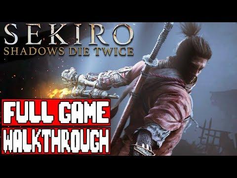 Sekiro Shadows Die Twice Gameplay Walkthrough Part 1 Full Game No Commentary Livestream
