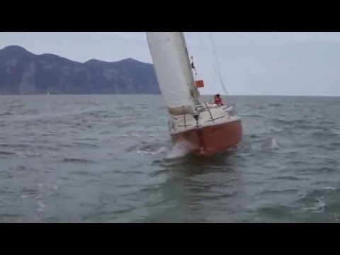 navegando a toda vela