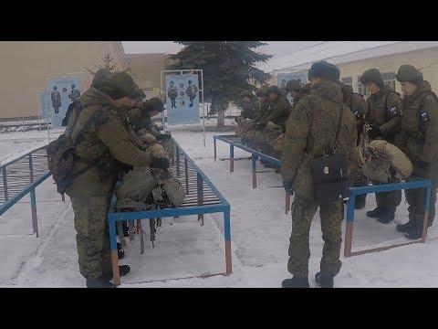 Молодое пополнение 331-го полка ВДВ готовится к первым прыжкам