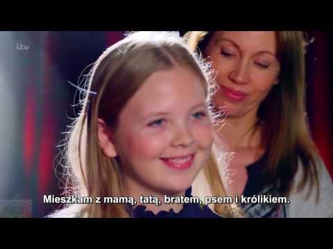 Cudowna 12-latka w Brytyjskim Mam Talent powaliła Jury swoim głosem!! [NAPISY PL]