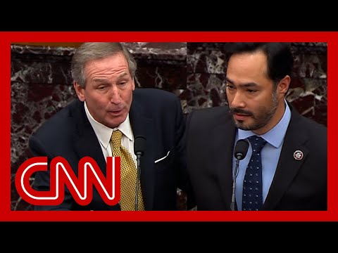 Senators ask impeachment lawyers what Trump did during riot