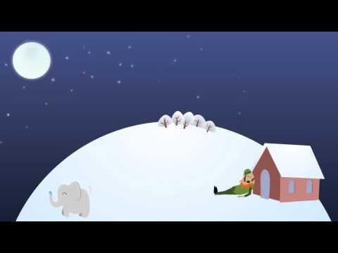 Dolce ninna nanna con rumore bianco graduale - 1 ORA
