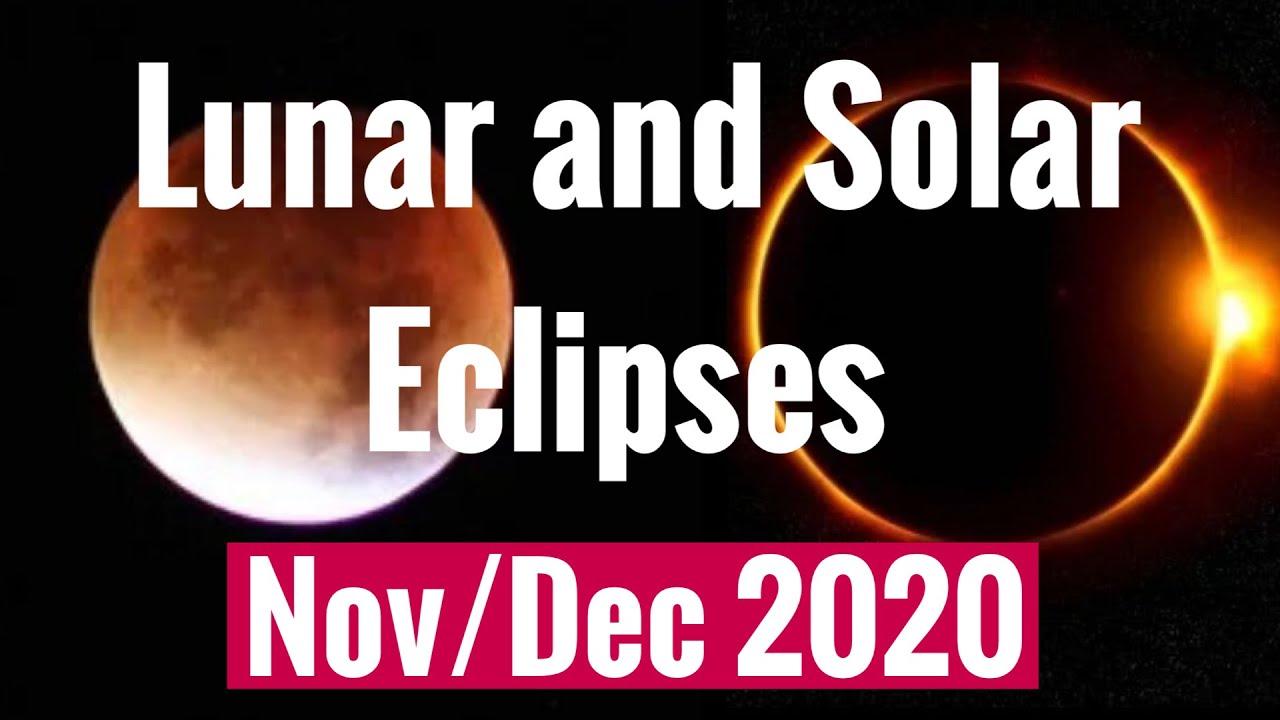 Lunar Eclipse Nov 2020 + TOTAL SOLAR ECLIPSE DEC 14th 2020 BIG changes! ALL SIGNS
