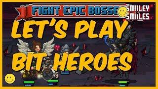 Gaming live stream: Bit heroes! Grinding at Raid 5!