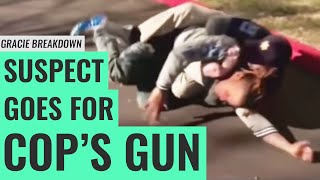 Suspect Goes for Gun - Jiu-Jitsu Saves Lives (Tulsa PD Gracie Breakdown)