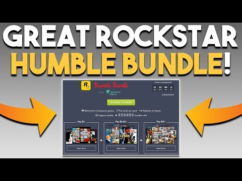 GREAT Rockstar Humble Bundle and AMD is VERY Profitable!