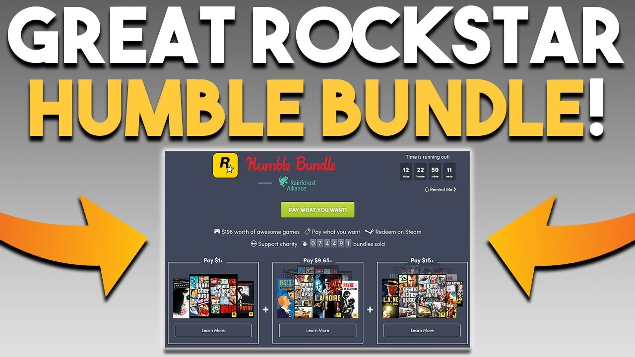 Great Rockstar Humble Bundle And Amd Is Very Profitable