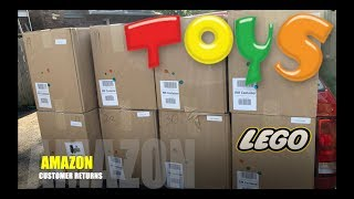 I bought a $1,661 Amazon Customer Returns TOYS Pallet + LEGO, Star Wars, TRANSFORMERS & MORE!