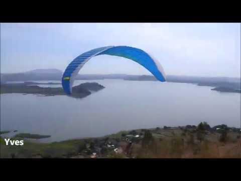 parapente Paragliding vols au Lac ITASY Madagascar par vichyparapente