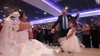 TURKISH GREEK WEDDING BRIDE AND GROOM PLATE BREAK SIRTAKI