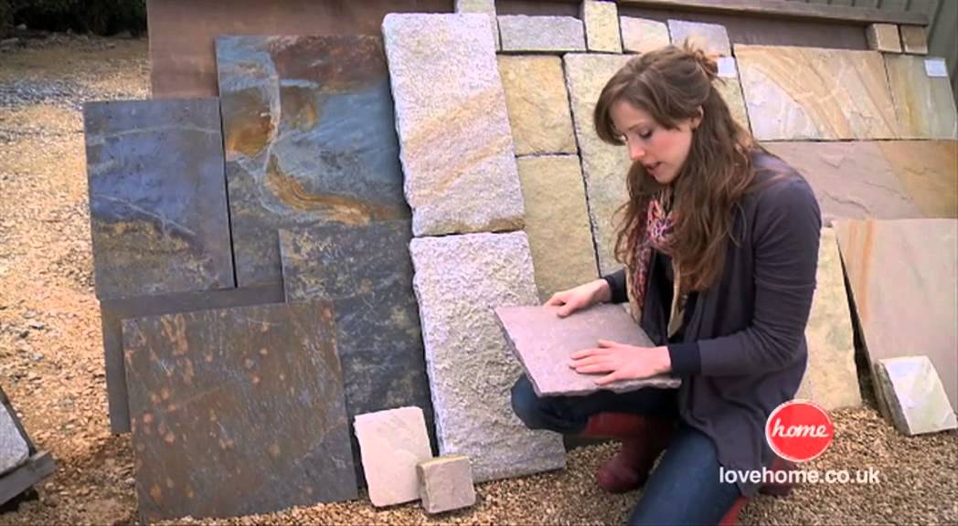 Garden Design: Choosing Garden Paving Slabs and Gravel - YouTube