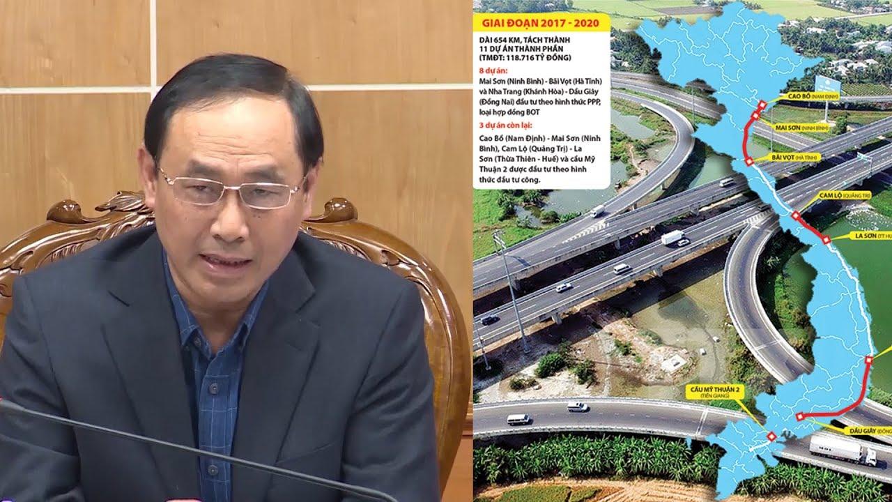 Thanh Hóa sẽ giải phóng 695,7 ha mặt bằng phục vụ dự án cao tốc Bắc – Nam