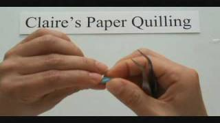 paper quilling-Square, rectangle, triangle, holly leaf.wmv