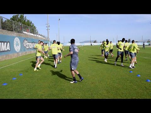 Ένα 24ωρο πριν το ματς των play off με τον Αστέρα Τρίπολης / PAO TV