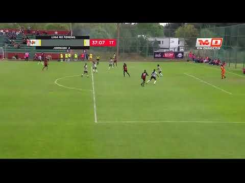 Gol de C. Ibarra | Atlas Femenil 1 - 0 Querétaro Femenil | Clausura 2020 J4 | LigaBBVAMXFemenil
