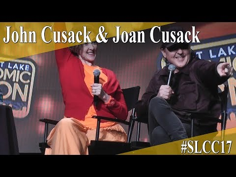 John and Joan Cusack - Panel/Q&A - SLCC 2017
