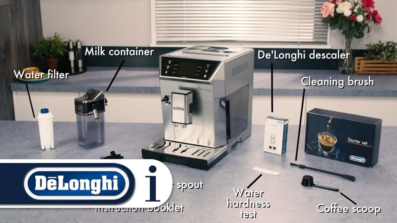 Whats In Pack With Your Delonghi Primadonna Class Ecam 55075ms Or Ecam 55055sb