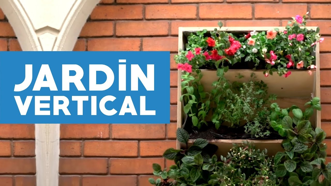 C mo hacer un jard n huerta vertical para espacios for Como hacer un lago en el jardin