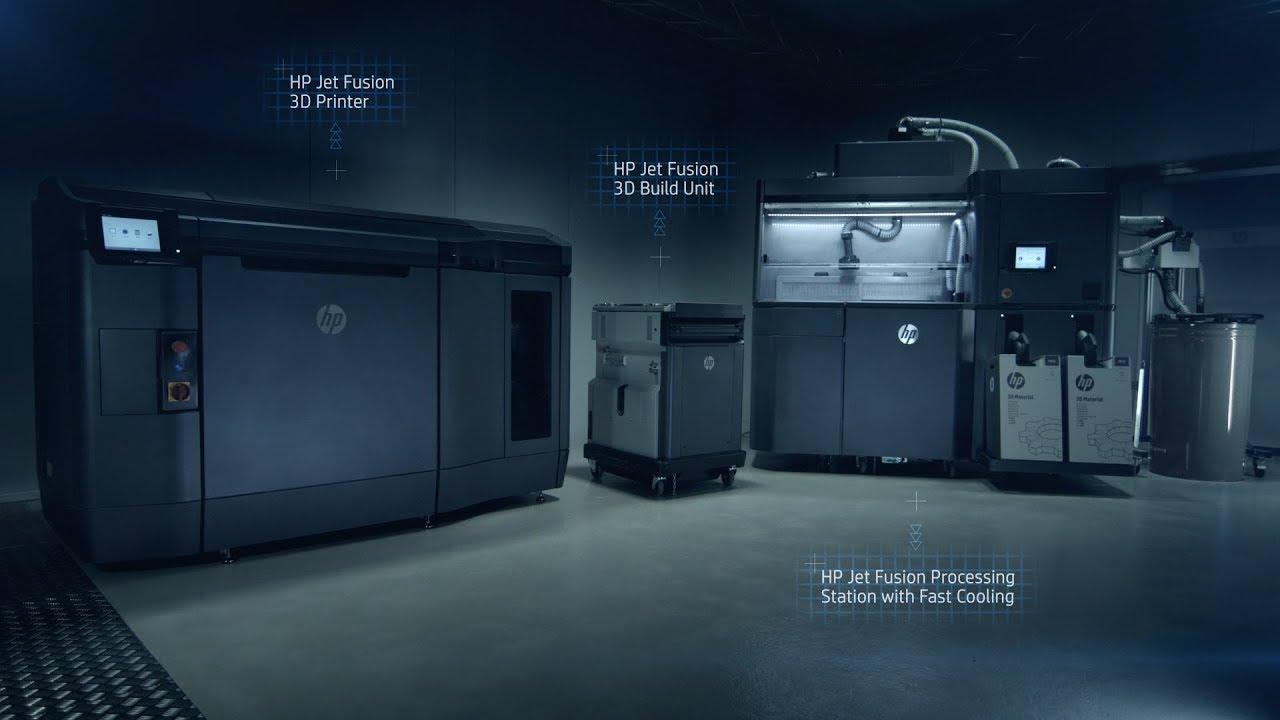 HP Multi Jet Fusion 3D Printing