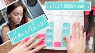 HOW I PLAN MY MONTH ⭐ Bullet Journal Method!