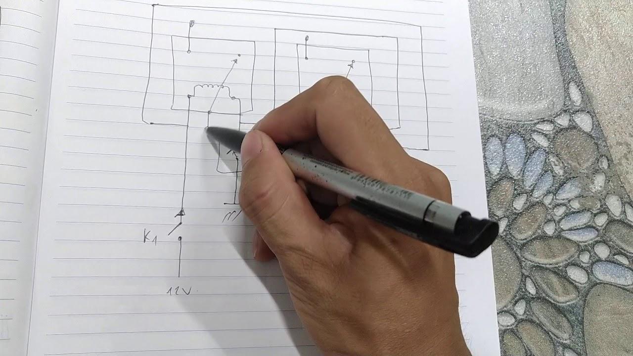Hướng dẫn thiết kế mạch điều khiển 2 công tắc  trong công ty