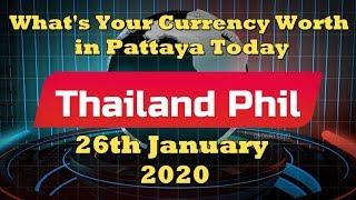 Pattaya Exchange Rates