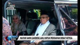 Download Video Ma'ruf Amin Gandeng Ahli untuk Persiapan Debat Ketiga MP3 3GP MP4