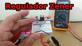 Regulador de Voltaje Zener con Transistor de Paso