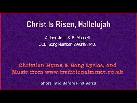 Christ Is Risen, Hallelujah(MP74) - Christian Lyrics & Music