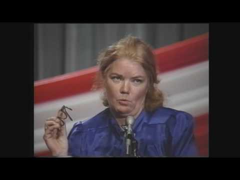 Molly Ivins in 1991