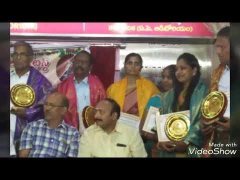 Artist Aparna / Kalaratnam Award  by VNR  Charitable Trust / 2018 Hyderabad