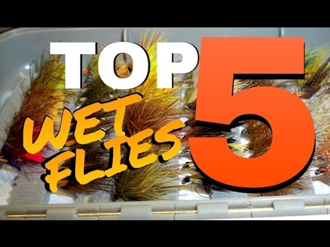Top 5 BEST Wet Trout Nymph Flies For Fly Fishing